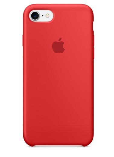 iPhone 7 Sert Silikon Kapak-Apple